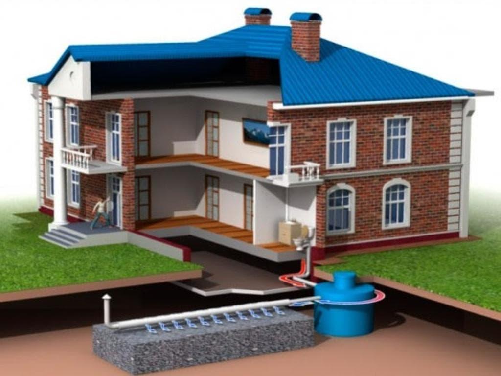 Канализация частного дома своими руками от а до я видео