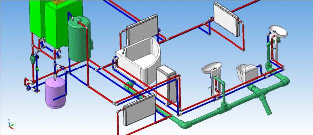 Монтаж и установка канализации